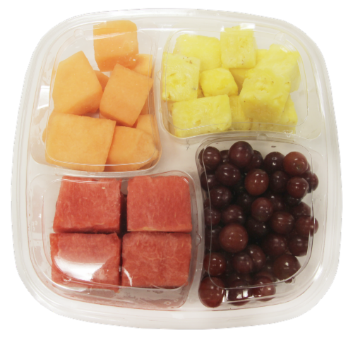 Fresh Kitchen Fruit Snack Tray Perspective: top