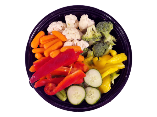 Fresh Kitchen Vegetable Bowl Perspective: top