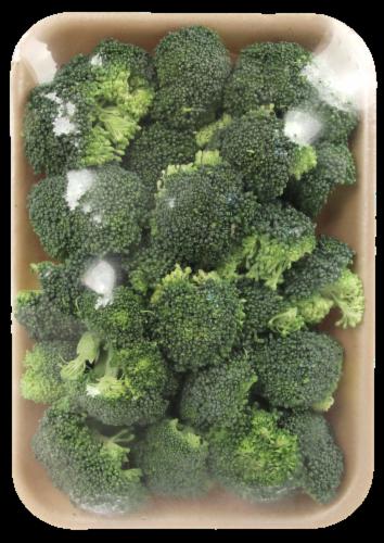 Garden Highway Organic Broccoli Florets Perspective: top