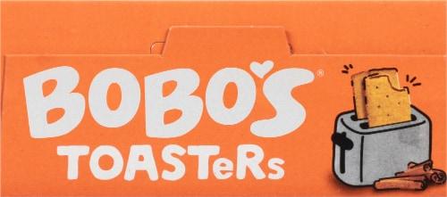 Bobo's® Cinnamon Brown Sugar Toaster Pastries Perspective: top