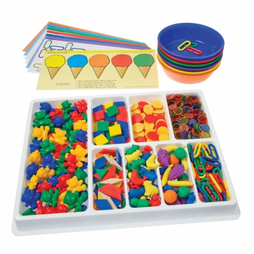 Learning Advantage Counting & Sorting Kit Perspective: top