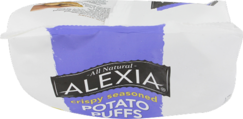 Alexia Crispy Seasoned Potato Puffs with Roasted Garlic and Cracked Black Pepper Perspective: top