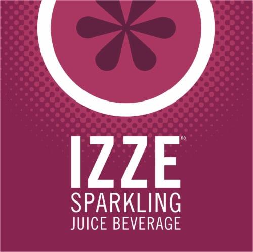 IZZE Sparkling Juice Beverage Blackberry Flavored Juice Drink Perspective: top