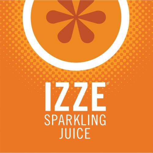 IZZE® Sparkling Juice Beverage Clementine Flavored Juice Drink Perspective: top