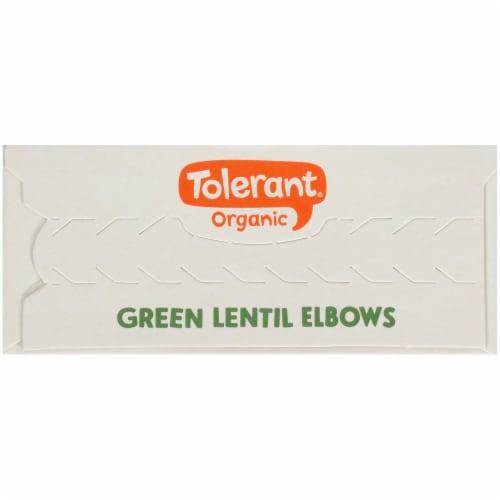 Tolerant Food Organic Green Lentil Pasta Simply Legumes™ Gluten Free Elbow Macaroni Perspective: top