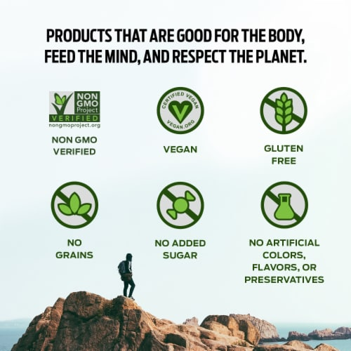 Vega Protein & Greens Plant-Based Chocolate Flavored Drink Mix Powder Perspective: top