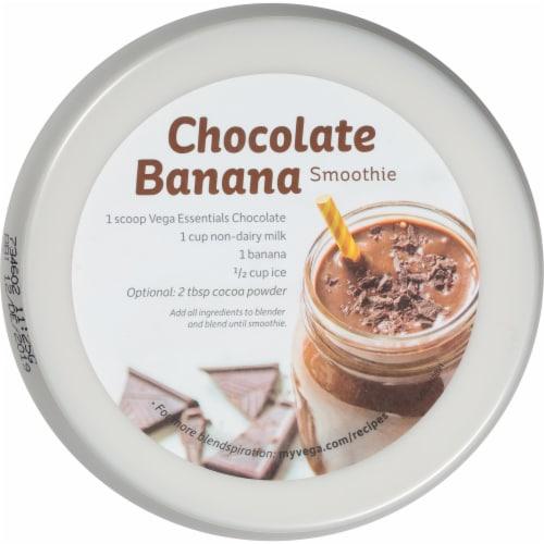 Vega Essentials Shake Chocolate Drink Mix Perspective: top