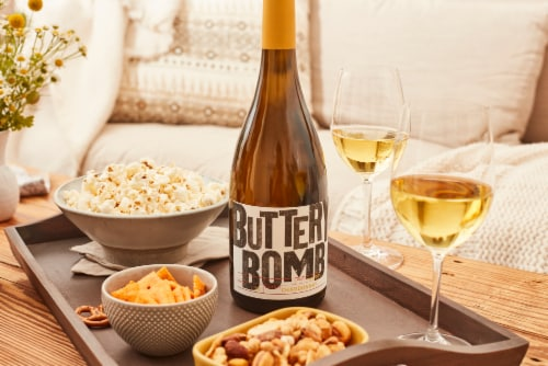Buttery Bomb Chardonnay White Wine Perspective: top