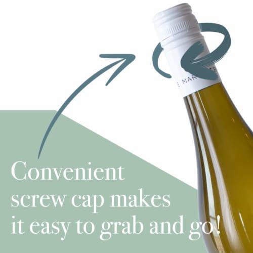 Martin's Rake Sauvignon Blanc White Wine Perspective: top