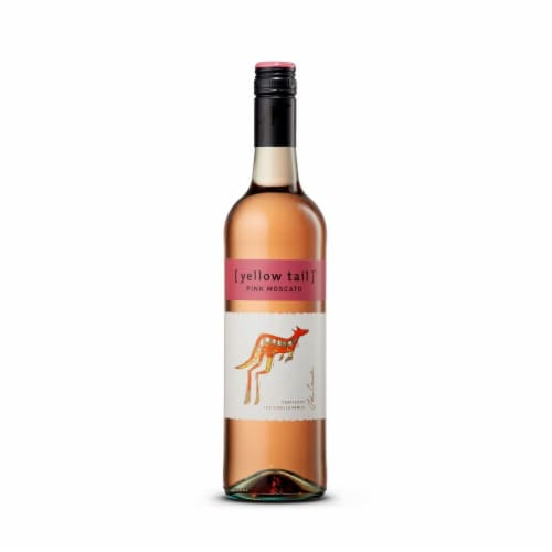 Yellow Tail Pink Moscato Perspective: top