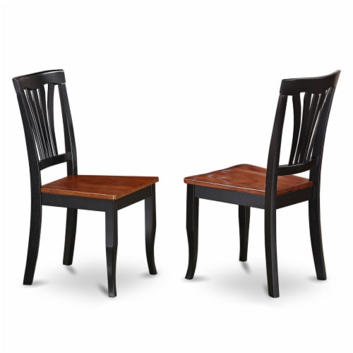 East West Furniture Dudley 7-piece Wood Dining Set with Stools in Mahogany Perspective: top