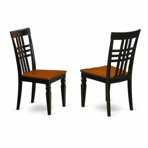 MLNO5C-MAH-C 5 Pc dinette set-small Dining Tables and 4 Kitchen Dining Chairs Perspective: top