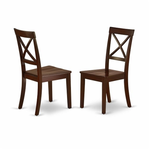 X697FL121-6-6-Piece Dinette Set-4 Chairs, an Bench & Table Solid Wood Structure Perspective: top
