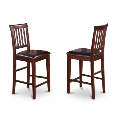 X696Ga650-7 - 7-Piece Table Set - 6 Chairs and a Table Hardwood Frame Perspective: top