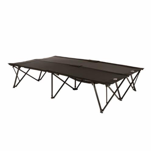 Kamp-Rite 2 Person Compact Indoor and Outdoor Double Kwik Sleeping Cot (2 Pack) Perspective: top