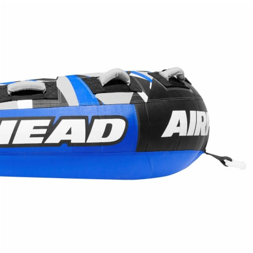 Airhead Super Slice Inflatable Triple Rider Towable Tube Water Raft (2 Pack) Perspective: top