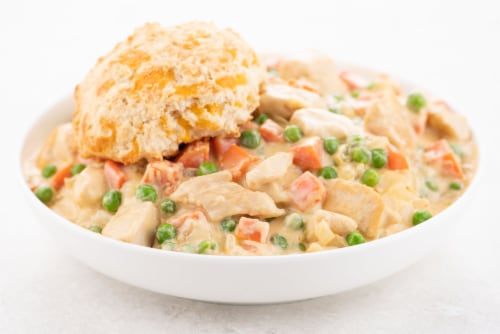 Home Chef Value Meal Kit Chicken A La King With Cheddar Biscuits Perspective: top