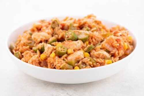 Home Chef Value Meal Kit Chicken Jambalaya Perspective: top