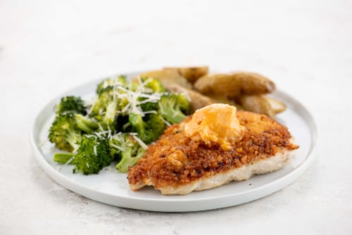 Home Chef Meal Kit Crispy Ranch Chicken and Hot Honey Butter Perspective: top
