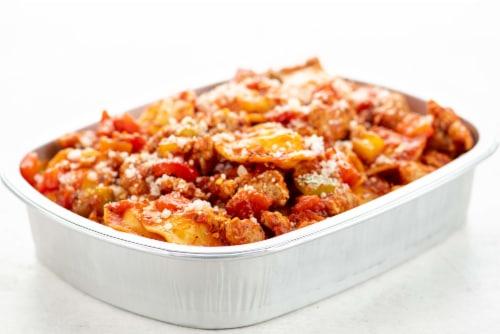 Home Chef Oven Kit Turkey Diavolo Ravioli Perspective: top