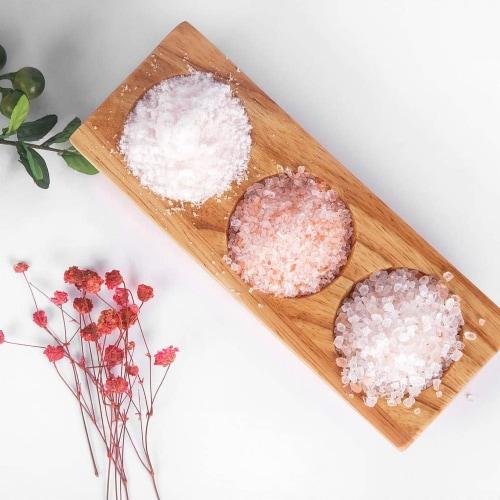 Salt 84 Pink Salt, Coarse Salt for Baking, Cooking & Seasoning | Pack of 6 – 1lbs Each Perspective: top