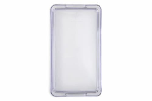 Core Kitchen Plastic Fridge Bin - Clear Perspective: top