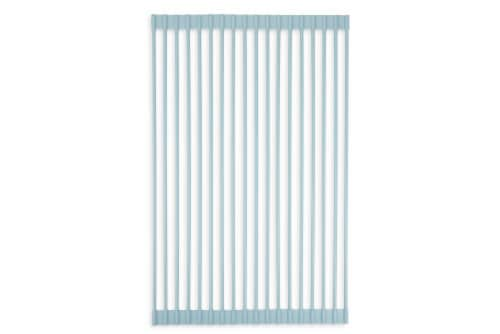 Core Kitchen Over the Sink Drying Rack - Blue Perspective: top