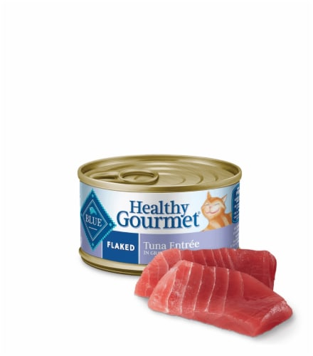 Blue Buffalo Healthy Gourmet Flaked Tuna Entree Cat Food Perspective: top