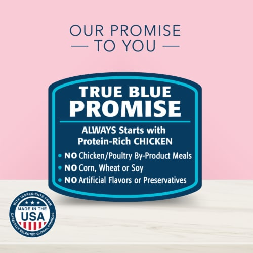 Blue Buffalo True Solutions™ Blissful Belly Chicken Digestive Care Formula Dry Cat Food Perspective: top