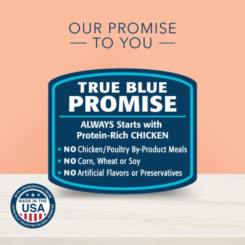 Blue Buffalo True Solutions Fit & Healthy Chicken Weight Control Formula Adult Dry Cat Food Perspective: top