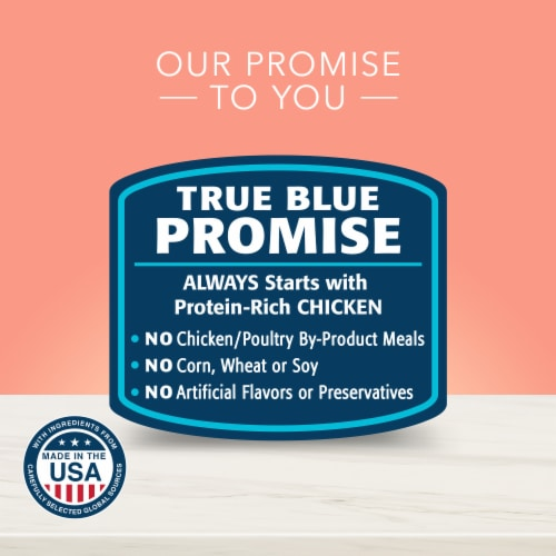 Blue Buffalo True Solutions Fit & Healthy Chicken Weight Control Formula Dog Food Perspective: top