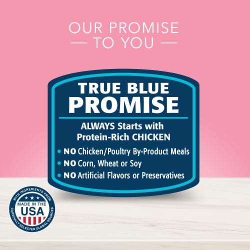 Blue Buffalo True Solutions Blissful Belly Diestive Care Natural Wet Dog Food Perspective: top