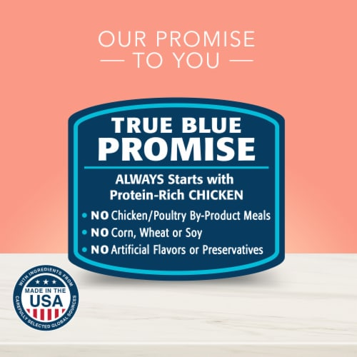 Blue Buffalo True Solutions Blissful Fit & Healthy Natural Wet Dog Food Perspective: top