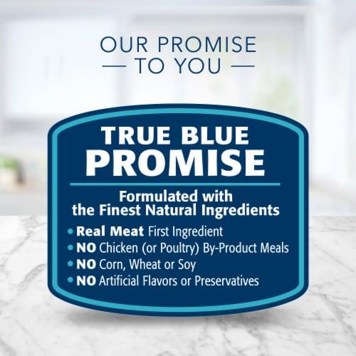 Blue Buffalo Tastefuls Salmon Chicken Ocean Fish & Tuna Pate Wet Cat Food Variety Pack Perspective: top