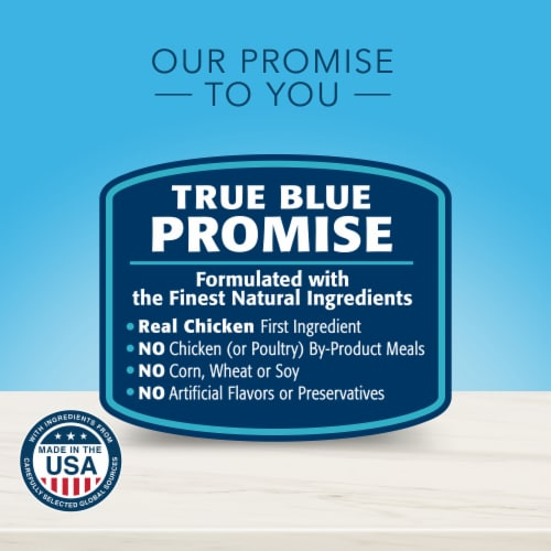 Blue Buffalo True Solutions Best Life Chicken Flavor Medium Breed Adult Dry Dog Food Perspective: top