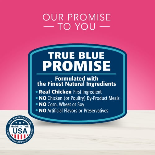 Blue Buffalo True Solutions Top Form Active Adult Dog Food Perspective: top