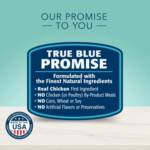 Blue Buffalo True Solutions Small & Mighty Small Breed Dog Food Perspective: top