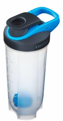 Contigo Shake & Go Fit Mixer Bottle - Carolina Blue Perspective: top