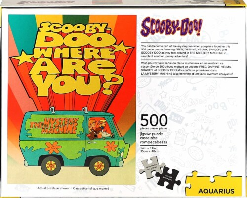 Scooby-Doo Where Are You? 500 Piece Jigsaw Puzzle Perspective: top