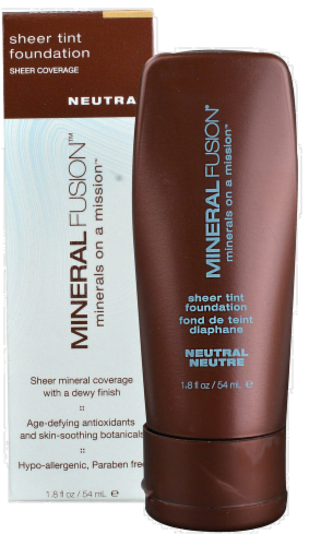 Mineral Fusion Neutral Sheer Tint Foundation Perspective: top