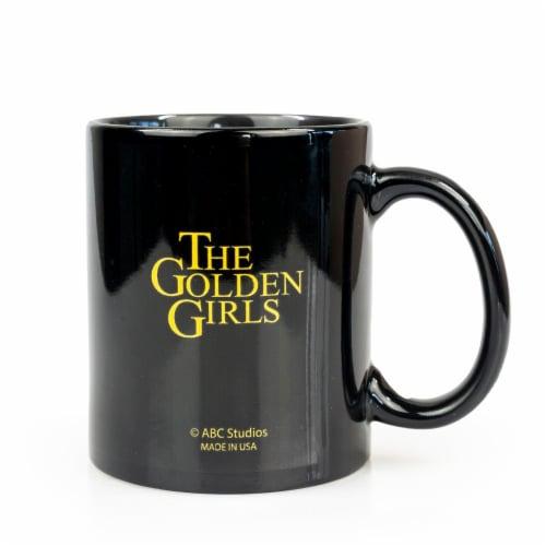 The Golden Girls Stay Golden San Diego Ceramic Mug | 11 Ounces| Golden Girls Mug Perspective: top