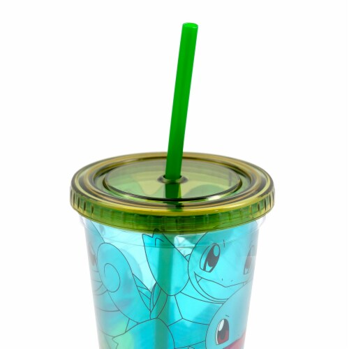 Pokemon Squirtle 18oz Carnival Cup Perspective: top