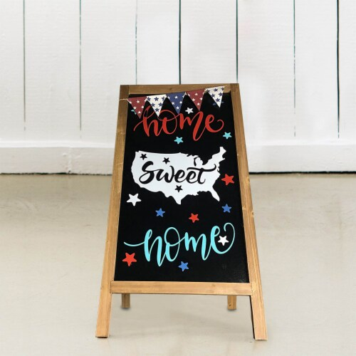 Offex Modern Decorative Home Sweet Home Easel - 32 H Perspective: top