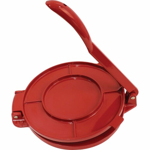 Chefs Secret Red Tortilla Press ,  6-Inch Perspective: top