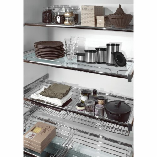 Wyndham House Stainless Steel Storage Containers 4pc (234  5 Cup) Perspective: top