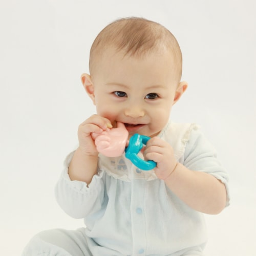 Toys by People® Brain Builders™ - Thumbs Up Pacifier Perspective: top