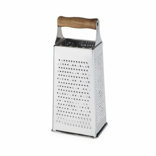 Acacia Wood Handled Cheese Grater by Twine® Perspective: top