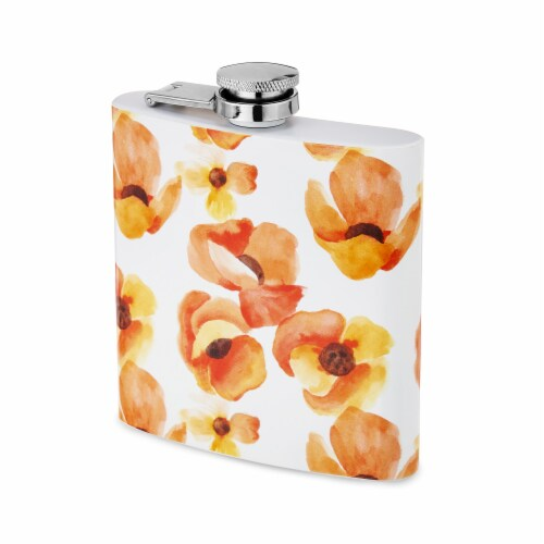 6 oz Poppy Flask by Twine® Perspective: top