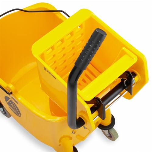 Dryser Commercial Mop Bucket Perspective: top