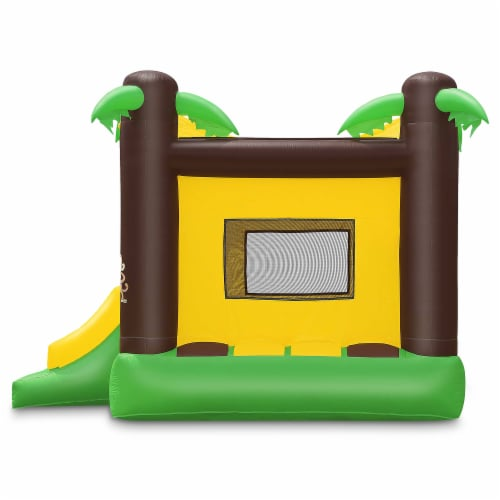 17'x13' Commercial Inflatable Jungle Bounce House w/ Blower by Cloud 9 Perspective: top